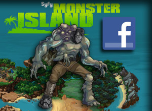 SyFy Monster Island (Facebook) - Art Asset Creation