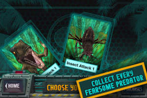 Primeval New World dFX (iOS): Augmented Reality App