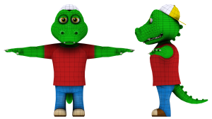 Meta 3D Studios - EnsenaSoft Alligator Geo