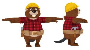 Meta 3D Studios - EnsenaSoft Beaver