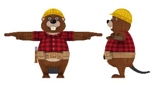 Meta 3D Studios - EnsenaSoft Beaver Geo