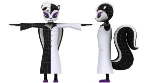 Meta 3D Studios - EnsenaSoft Skunk Geo