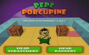 Pepe Porcupine Menu