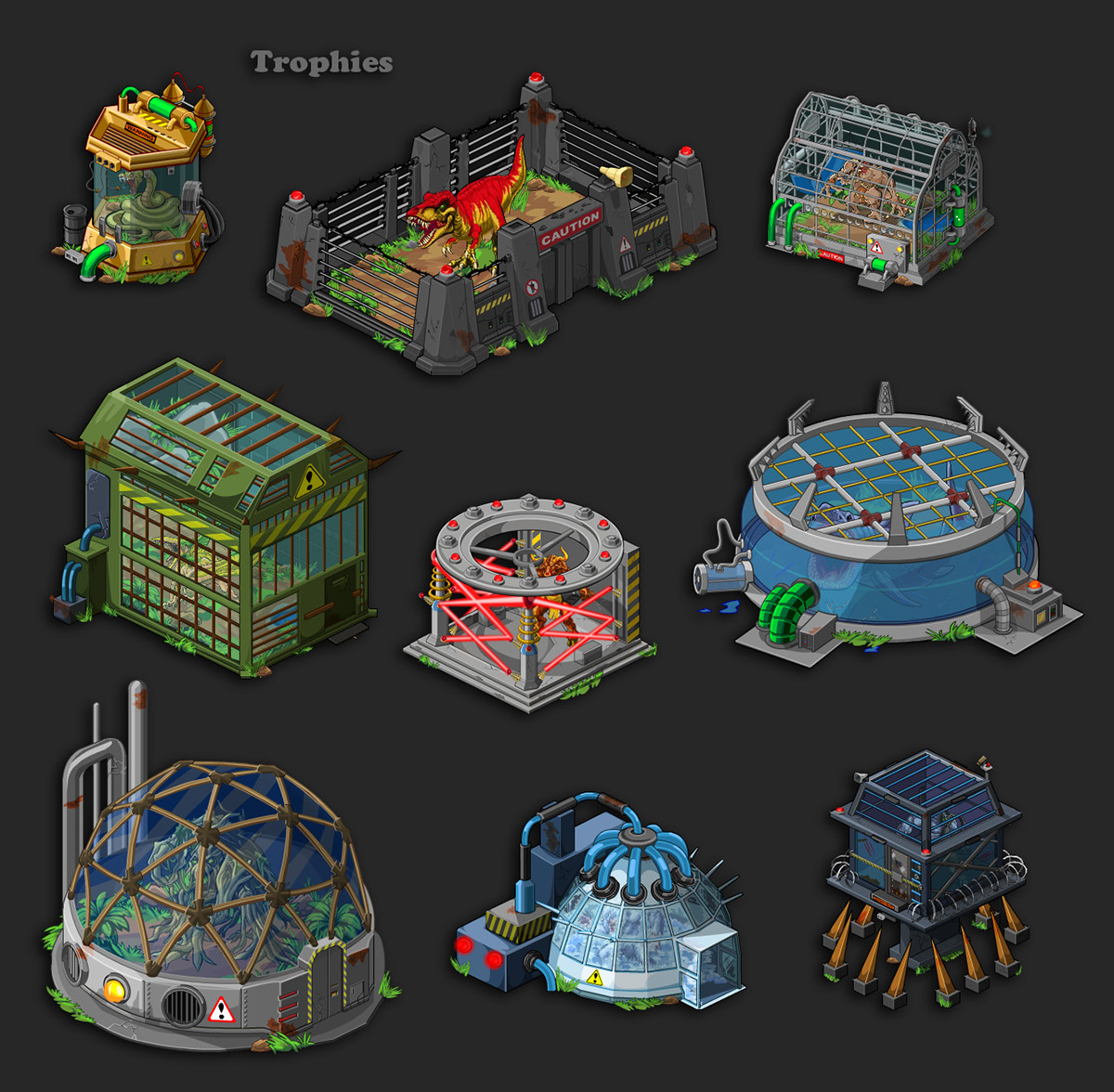 Meta 3D Studios | 2D And 3D Isometric Art
