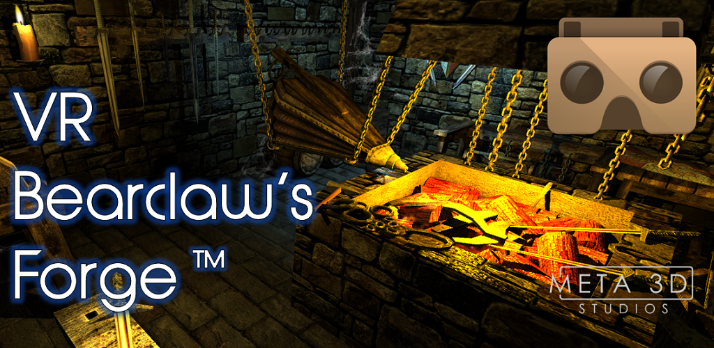 VR Bearclaws Forge tm Meta3DLogo Feature Graphic 1024 x 500