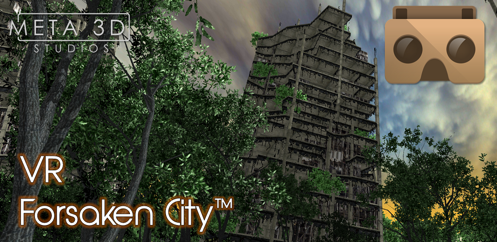 VR Forsaken City tm Meta3DLogo Feature Graphic 1024 x 500