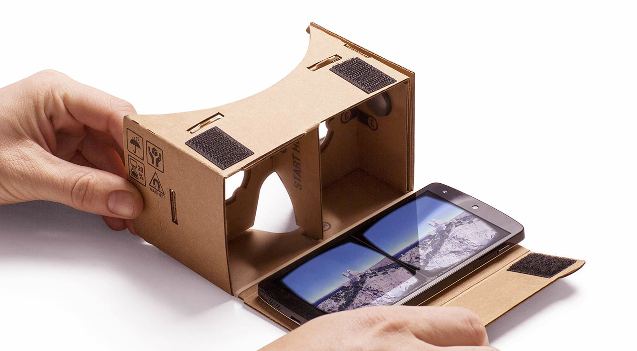 Google Cardboard open with Phone