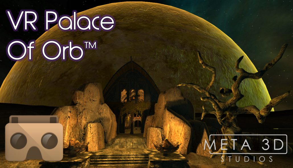 VR Palace of Orb with logo