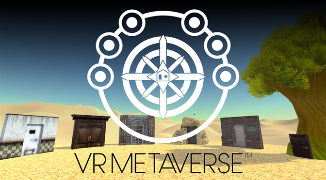 VR Metaverse Logo 672x372 for Featured Image In WordPress